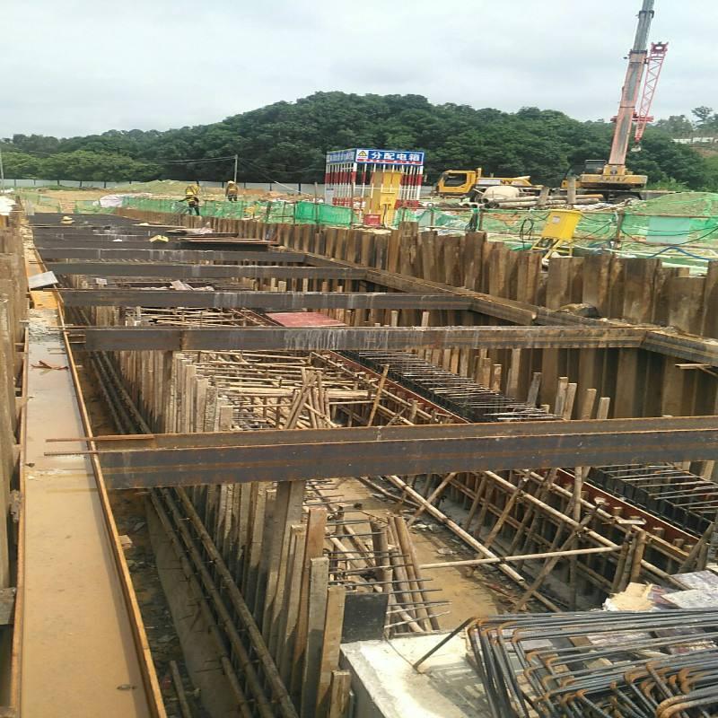 綜合管廊鋼板樁施工